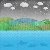 Бумага погоды стоковое изображение rf