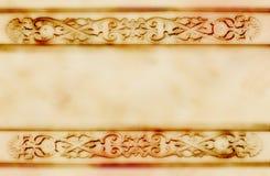 бумага предпосылки старая Стоковая Фотография