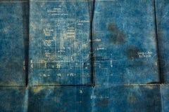 бумага предпосылки старая Стоковое Изображение