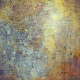 Бумага предпосылки Scrapbook винтажной карты богемская Стоковые Изображения