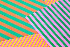 бумага предпосылки striped Стоковые Изображения RF