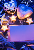бумага приветствию конструкции рождества карточки Стоковое Изображение RF