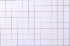 бумага придала квадратную форму Стоковое Изображение
