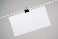 бумага примечаний Стоковая Фотография RF