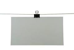 бумага примечаний Стоковое фото RF