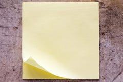 бумага примечания липкая Стоковые Фотографии RF