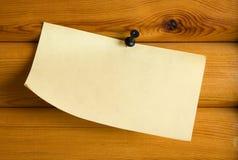 бумага примечания Стоковая Фотография RF