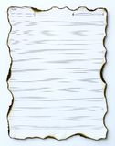 бумага пустого нот старая Стоковое Изображение RF