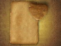 бумага пустого письма старая Стоковая Фотография RF