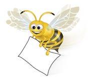 бумага пчелы счастливая Стоковые Фотографии RF