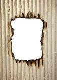бумага рамки ожога предпосылки Стоковое фото RF