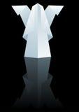 бумага рождества ангела Стоковая Фотография