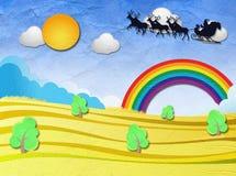 Бумага рождества Стоковые Изображения RF