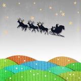 Бумага рождества Стоковые Фотографии RF