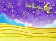 Бумага рождества Стоковое Фото