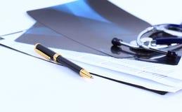 Бумага ручки изображения Стоковое Изображение