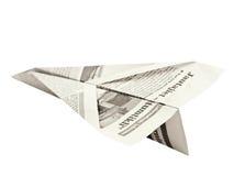 бумага самолета Стоковое Изображение RF