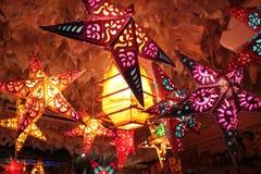 бумага светильников Стоковая Фотография