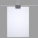 Бумага связывателя с веревочкой бесплатная иллюстрация