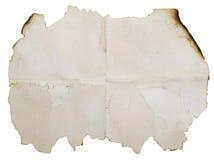 бумага сгорели antique, котор Стоковое фото RF