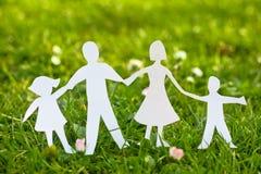 бумага семьи Стоковая Фотография