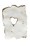 бумага сердца Стоковая Фотография