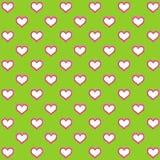 Бумага сердец и цветов цифров для украшений Стоковые Фото