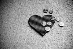 бумага сердца Стоковые Фотографии RF