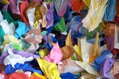 бумага скомканная кранами Стоковые Фото