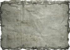 бумага скомканная предпосылкой Стоковое Изображение RF