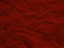 Бумага сморщенная красным цветом Стоковые Фото