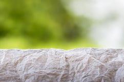 Бумага сморщенная серым цветом Стоковые Фото