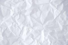 бумага сморщила Стоковые Фото