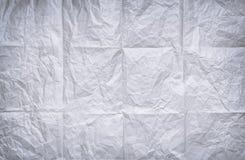 бумага сморщила Стоковые Фотографии RF