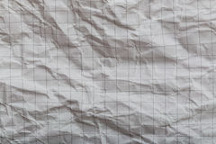 бумага сморщила Стоковое Изображение