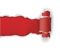 Бумага сорванная белизной Стоковая Фотография RF