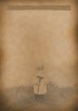 Бумага старой предпосылки меню чая винтажная для любого дизайна Стоковые Фотографии RF