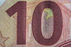 Бумага текстуры, часть бумажных денег Стоковое Фото