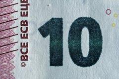 Бумага текстуры, часть бумажных денег Стоковое Изображение RF