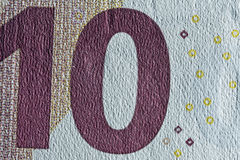 Бумага текстуры, часть бумажных денег Стоковые Фотографии RF
