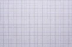 Бумага тетради математики Стоковые Изображения RF