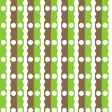 Бумага украшения цифров зеленая и коричневая Стоковое Фото