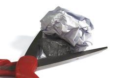 Бумага утеса Scissor Стоковые Фотографии RF