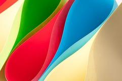 бумага цвета предпосылки Стоковые Фотографии RF
