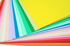 бумага цвета Стоковое Фото