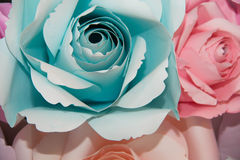 Бумага цветка абстрактной радуги красочная красивая розовая Стоковые Фотографии RF