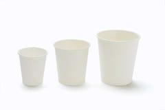 бумага чашек Стоковые Изображения