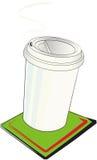 бумага чашки Стоковое фото RF