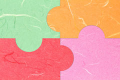 бумага шелковицы зигзага Стоковое Фото