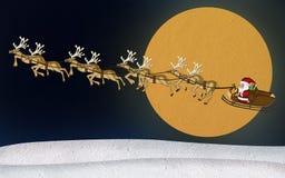 Бумага шелковицы северного оленя рождества Стоковое Фото